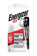 S5298 ENERGIZER CR123 LITHIUM, PACK OF 2