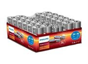 S14400 PHILIPS POWER ALKALINE  PACK OF 24 x AA & 16 x AAA