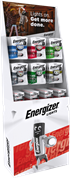 S17469 ENERGIZER TORCHES FSDU - BATTERIES INCLUDED
