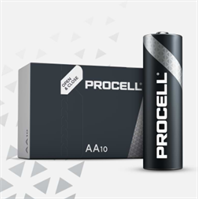 S3860 DURACELL PROCELL AA/MN1500, BOX OF 10 (PRICE PER CELL)
