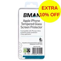 B2963 BMAN iPHONE 6 TEMPERED GLASS SCREEN PROTECTOR