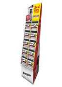 S15412 ENERGIZER MAX 8+4 PREFILLED AA & AAA FSDU - CONTAINS 108 CARDS